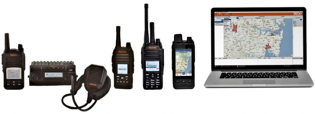 PUSH TO TALK OVER CELLULAR (POC) radios