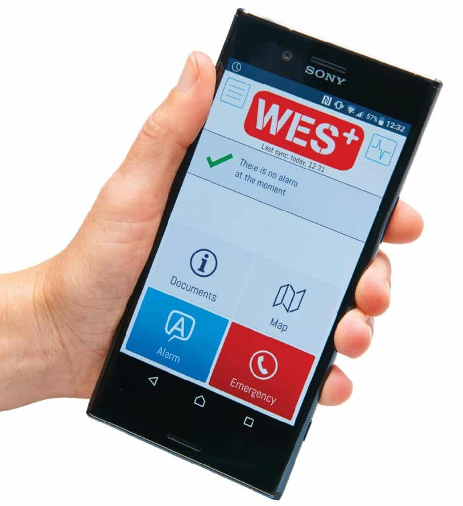 wes3 mobile phone app