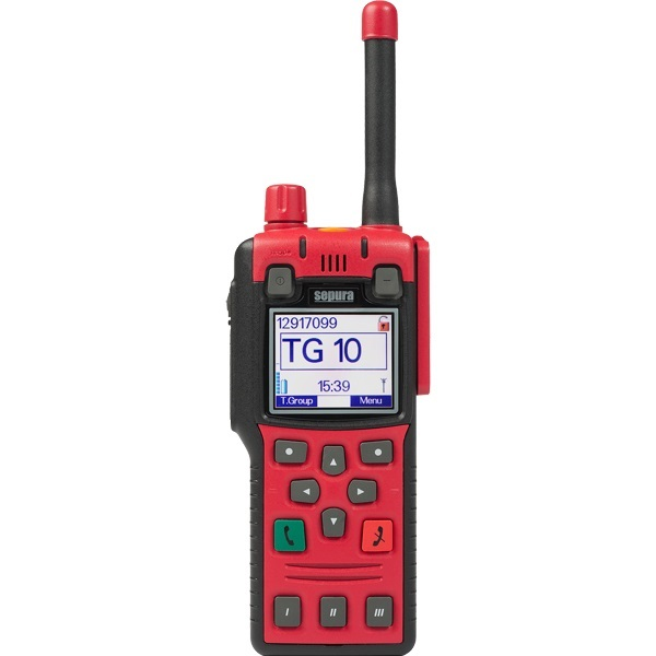 Sepura STP8X140 ATEX Portable 1W 407-473MHz  Inc GPS (radio Only), No Encryption, Bluetooth, Man-Down Capable, Colour Display