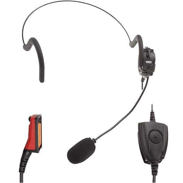 Sepura Headset 300-00892 STP8X Lightweight with In-Line PTT IECEx/ATEX/SGS Approved