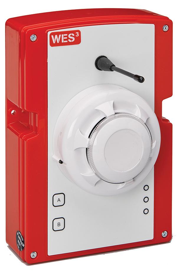 WES3 W3-SEN-SMP-R-9R Standard Smoke Detector – ANZ