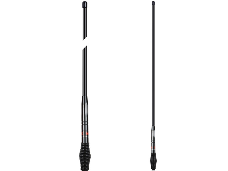 GME Antenna  AE4702B UHF  477MHz 1.04 Metre Colinear Aerial With Medium Barrel Spring (6.6dBi Gain) Black