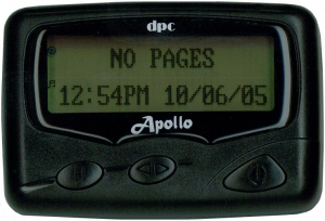 Apollo Pager  2/4 Line Alphanumeric VHF