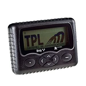 TPL Pager Birdy4G LTE/Pocsag VHF143-151 Mhz 4 Line Alpha inc Holster, Battery, Lanyard & USB-C Charging Cable.
