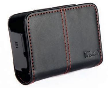 TPL Leather Pouch BIRDYW-HMAG Horizontal Position with Magnet