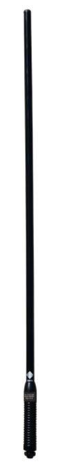 RFI Antenna CD5000-B UHF 477 MHz  5.0dB Heavy Duty Fibreglass High Gain c/w Black S/S Spring And 5m 9006 Cable