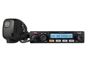 GME CM60-U25L 25 Watt, 450-520MHz Transceiver, Local Control. MP600B IP67 Fist Microphone.