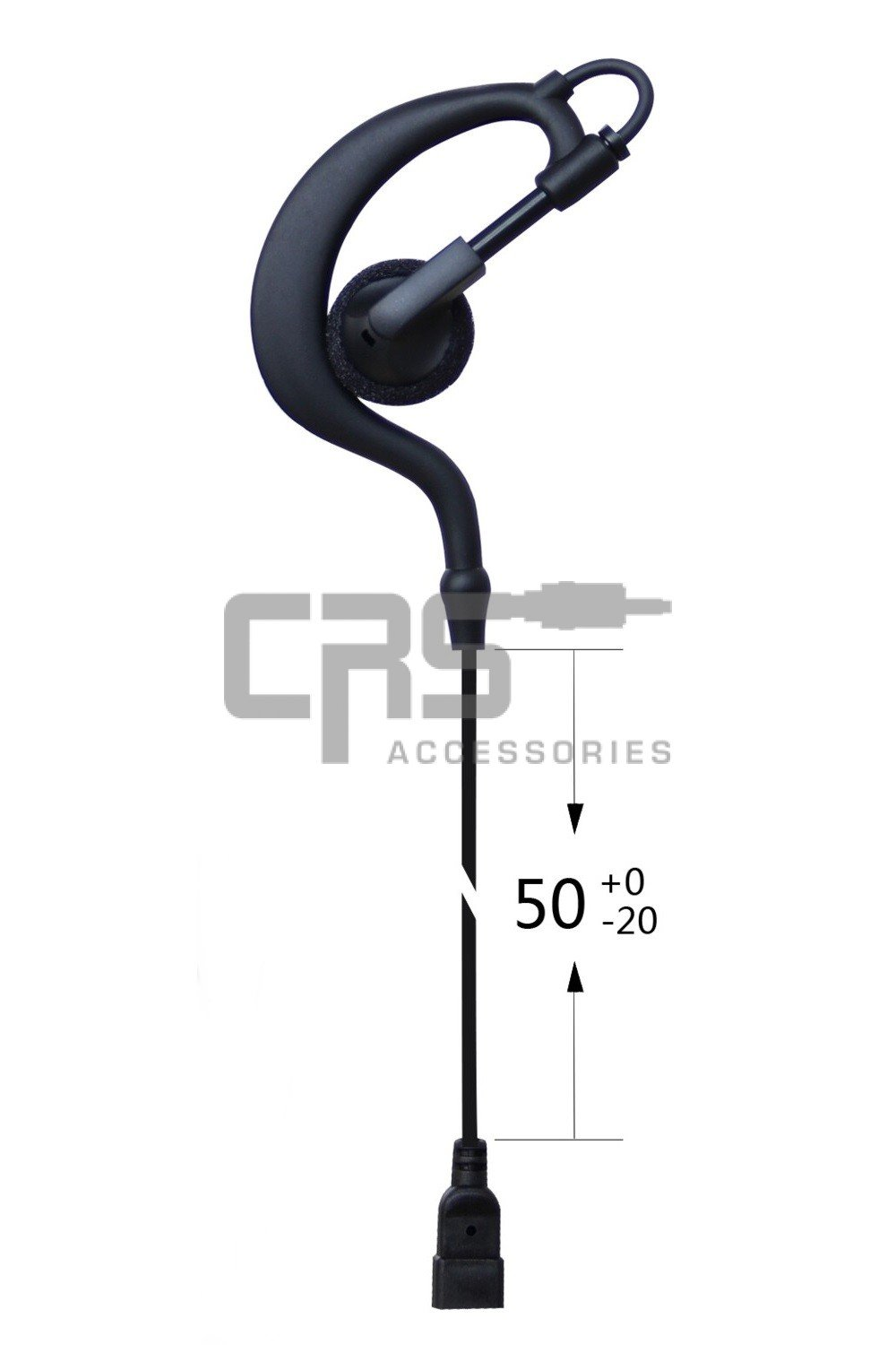 CRS Earhook Earpiece To Suit CRS-1WH/2WH/3WH