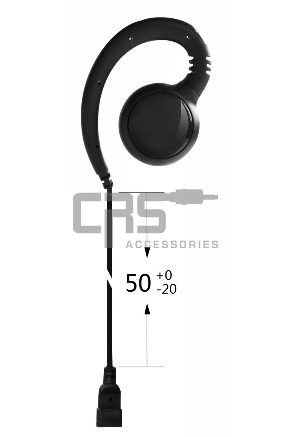CRS G Hook Earpiece suit CRS 1WH / 2WH