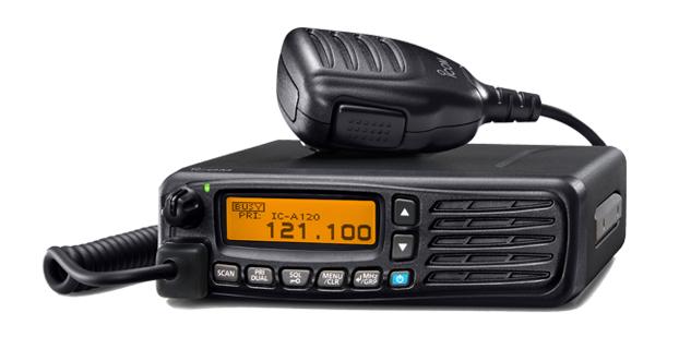 Icom IC-A120E Mobile VHF Airband 36W (PEP)12v Or 24VDC Operation