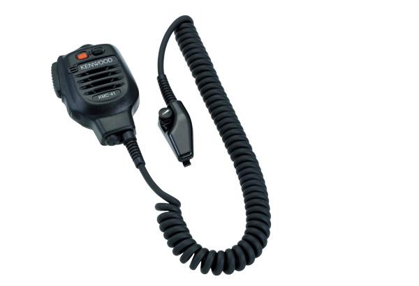 Kenwood Speaker Microphone KMC-41 Heavy Duty IP54/55 Mil Spec