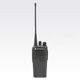 Motorola DEP 450 Portable UHF 450-527M 4W ND 16Ch, Inc Antenna, Standard Battery & Belt Clip