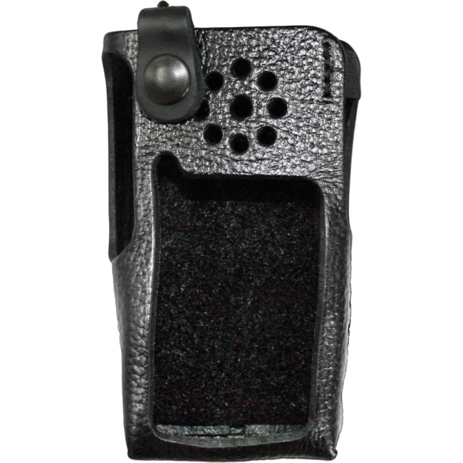 Icom Case Leather with Clip Suit Icom IC-F1000