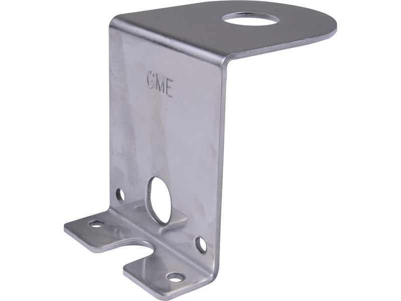 GME Antenna Mounting Bracket MB407SS 1.5mm Stainless Steel Bonnet/boot Z Bracket