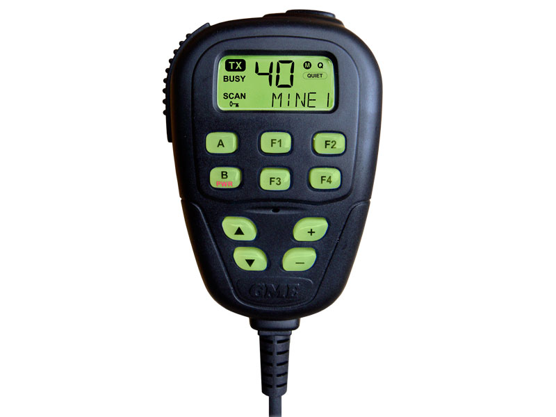 GME Microphone MC522BC Remote LCD to suit TX3600BW/TX3820VB/TX3820UB – 5 character display