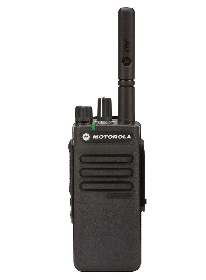 Motorola DP2400e Portable UHF 403-527MHz 4W NKP-AU, S Model, Non-Display Inc Antenna, Standard Battery & Belt Clip