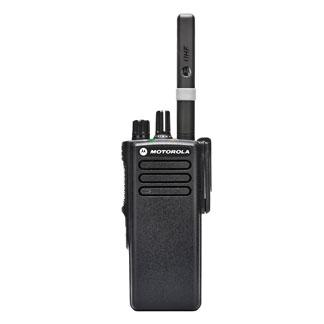 Motorola DP4401e Portable VHF 136-174MHz 5W MotoTRBO GPS No Keypad Inc Antenna, Standard Battery,& Belt Clip