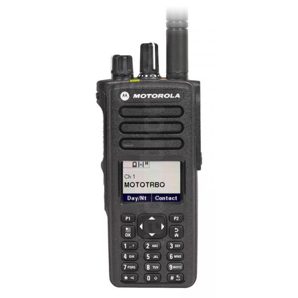 Motorola DP4800e Portable UHF 403-527MHz Keypad/display Inc Antenna, Standard Battery & Belt Clip