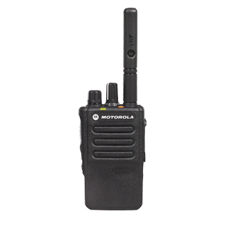 Motorola DP3441e Portable VHF 136-174MHz 5w IP67 Inc GPS Bt, Inc Antenna, Standard Battery & Belt Clip