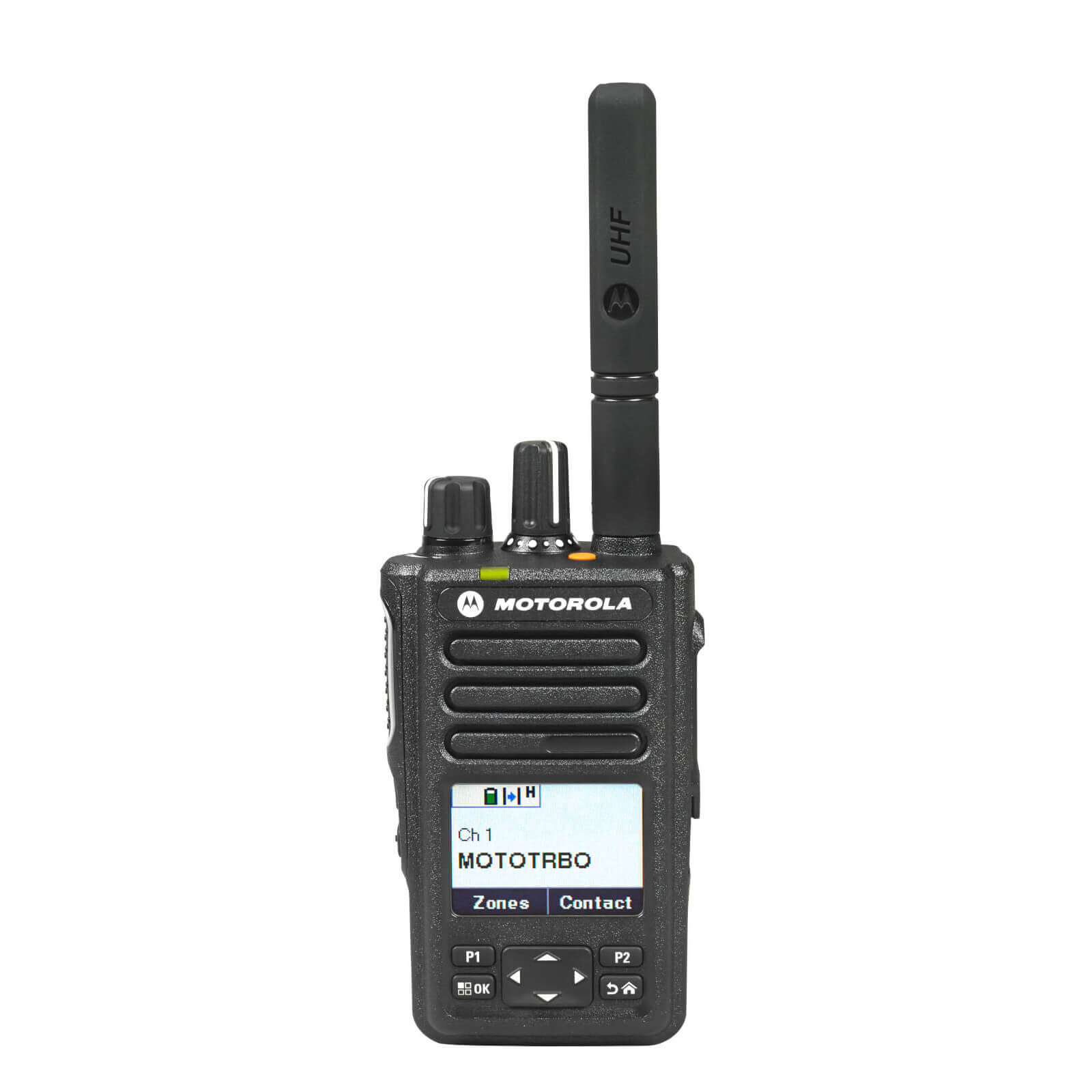 Motorola DP3661e Portable VHF 136-174 MHz 5w LKP IP68 Inc GPS, Bluetooth, WiFi, Antenna, PMNN4440AR STD 1700T Battery & Belt Clip
