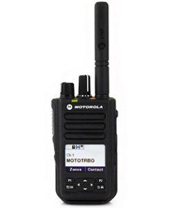 Motorola DP3661e Portable UHF 403-527MHz 4w LKP IP68 Inc GPS, Bluetooth, WiFi, Antenna, PMNN4440AR STD 1700T Battery & Belt Clip
