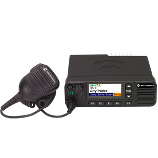 Motorola DM4601e Mobile UHF 403-470MHz Colour Display With Mic, Cradle Pwr Lead & GPS/bluetooth