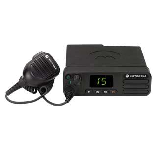 Motorola DM4401e Mobile UHF 450-527MHz Numeric Display Inc Mic, Cradle & Pwr Lead