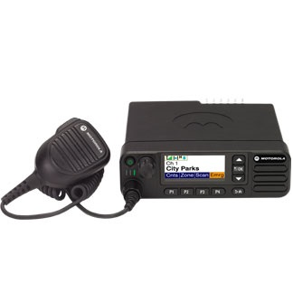 Motorola DM4600e Mobile UHF 450-527MHz Colour Display with Mic, Cradle & Power Lead