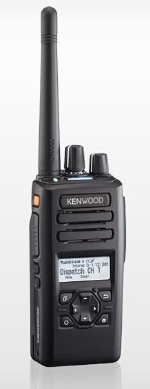 Kenwood NX-3300K2 DMR Portable UHF 400-520MHz 260ch / 128 Zones LCD Display & 4 Way D-Pad (List Required Antenna Separately)