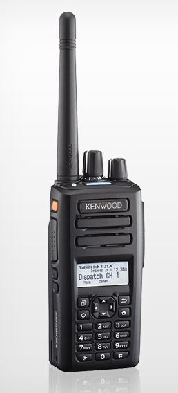 Kenwood NX-3300K3 DMR Portable UHF 400-520MHz 260ch / 128 Zones LCD Display & Full Keypad (List Required Antenna Separately)
