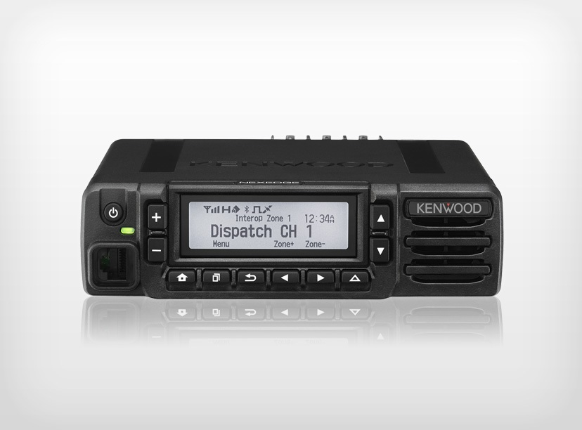 Kenwood NX-3720HGK DMR Mobile VHF 136-174MHz c/w KMC-35 Microphone