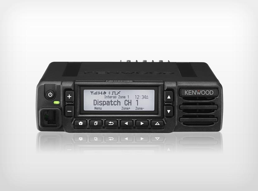 Kenwood NX-3820HGK Mobile UHF 450-520MHz Digital c/w KMC-35 Mic