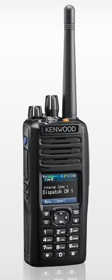 Kenwood NX-5200 DMR Portable VHF 136-174MHz Digital, Full Keypad, Belt clip (List Required Antenna Separately)