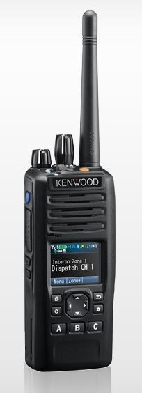 Kenwood NX-5300 P25 Portable UHF 450-520MHz Digital, Half Keypad, Belt Clip (List Required Antenna Separately)