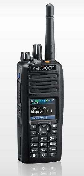 Kenwood NX-5300 P25 Portable UHF 450-520MHz Digital, Full Keypad, Belt clip (List Required Antenna Separately)