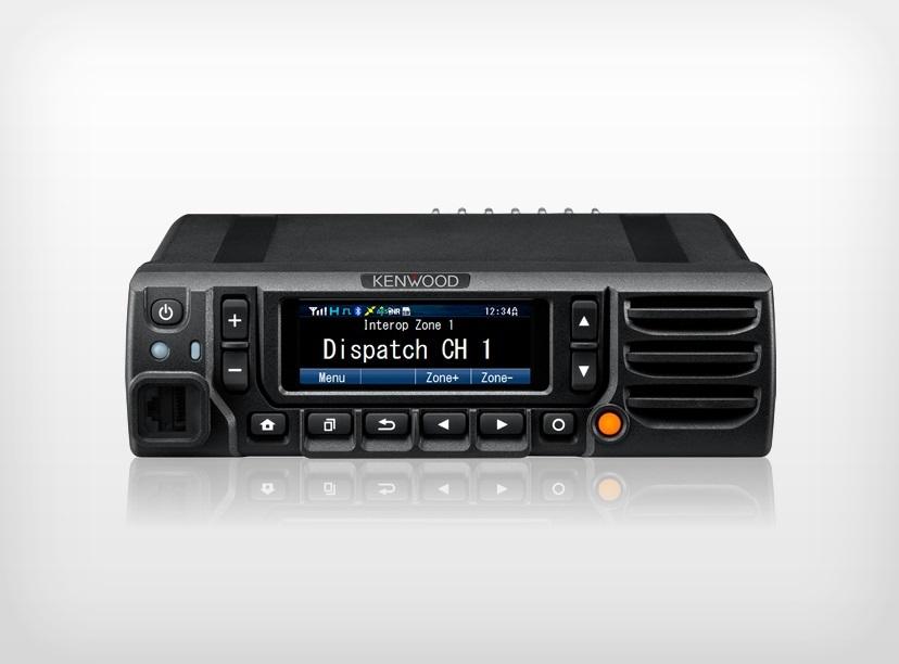 Kenwood NX-5800K2 P25 Mobile UHF 380-470MHz P25 Digital c/w KMC-35 Mic