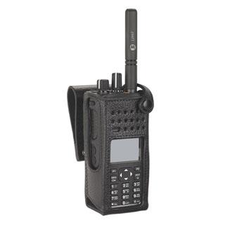 Motorola  Leather Case PMLN5840A Hard 3″ Belt Loop, Swivel