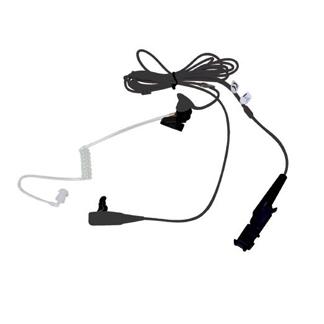 Motorola 2-Wire Surveillance Kit W/Quick Disconnect Clear Acoustic Tube, Black – suits DP2000 series & DP3441/3661