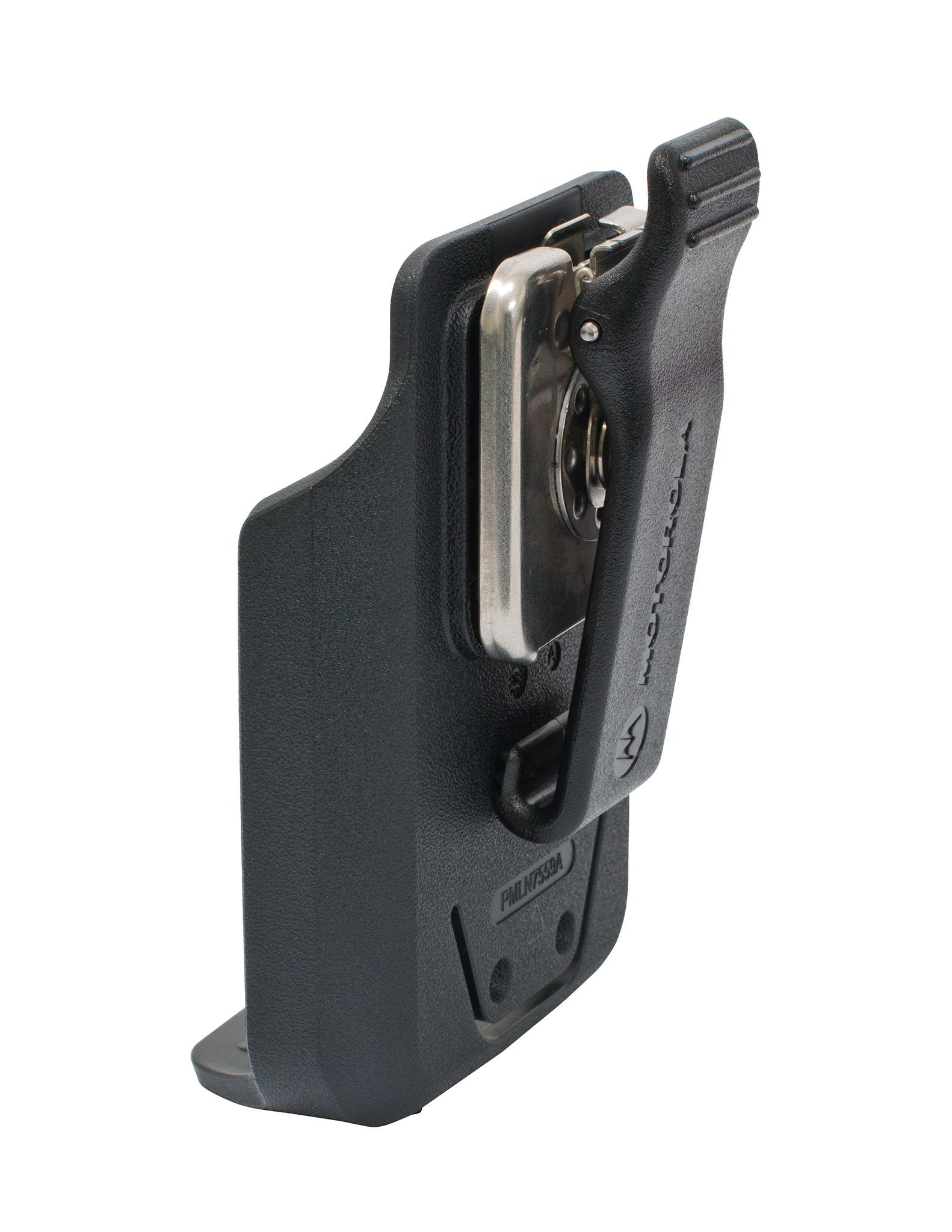 Motorola Carry Accessory – Holster, Plastic Carry Holder with Belt Clip suit DP3441e DP3661e