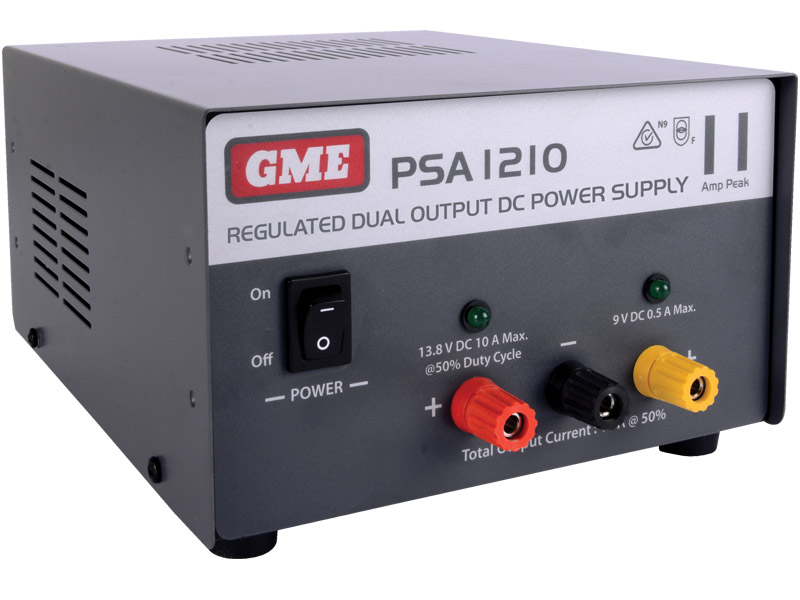 GME Power Supply Regulated (11 Amp Peak)