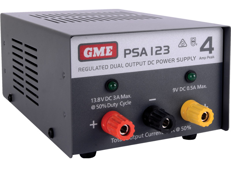 GME Power Supply Regulated  (4 Amp Peak)