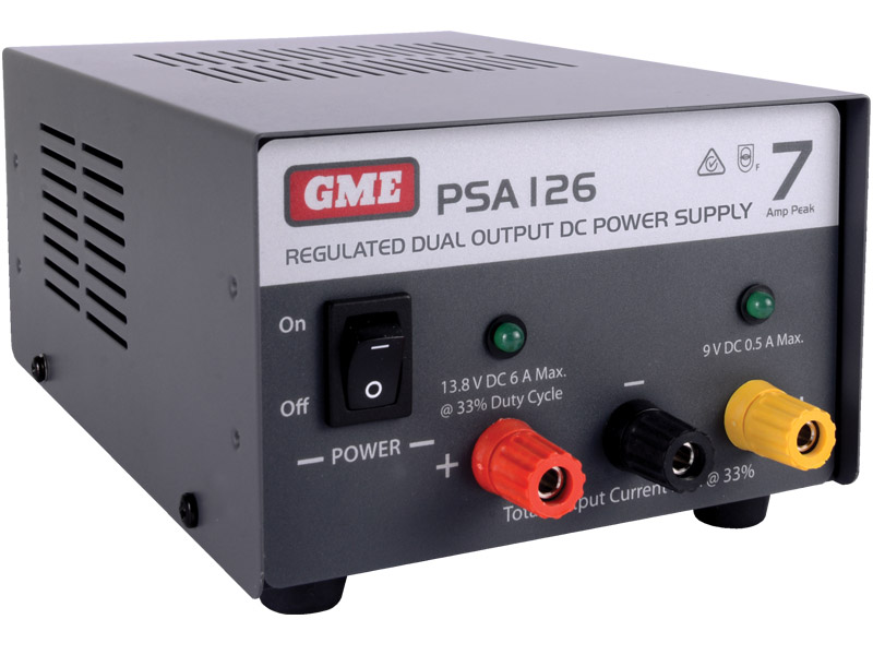 GME Power Supply Regulated (7 Amp Peak)