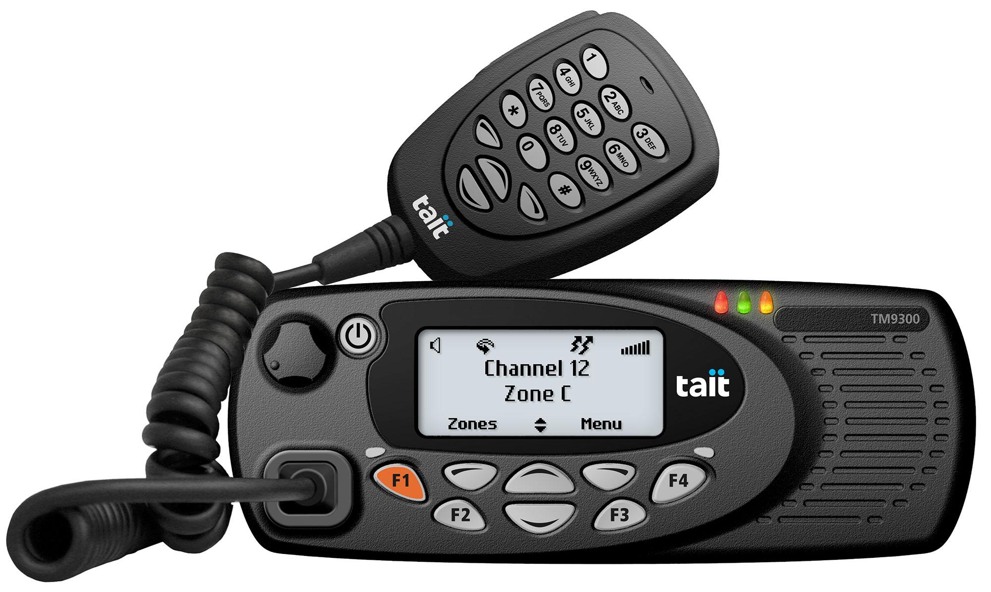 TAIT TM9355 Mobile Dash Mount DMR VHF/ UHF 25Watts