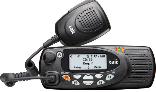 TAIT TM9400 Mobile Dash Mount P25 VHF/ UHF 25Watts