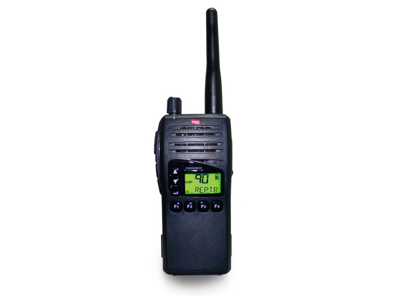 GME TX7200 UHF hand held portable 5 Watt and antenna, 124 Channel UHF 450 – 520MHz wide band / narrow band transceiver, DTMF, ANI selective call and 4 soft keys.