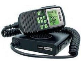 Uniden UH5060 Mobile CB UHF 5W 80Ch Radio, AVS, Mini Compact Size Remote LCD Spkr Mic