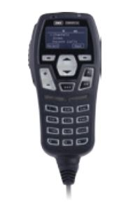 GME Microphone UIC600BC Control Head , OLED Display, Black, with Integrated 2W Speaker suit CM60 Series Radios