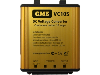 GME Voltage Convertor VC10S 24-12V DC 10A Switch Mode