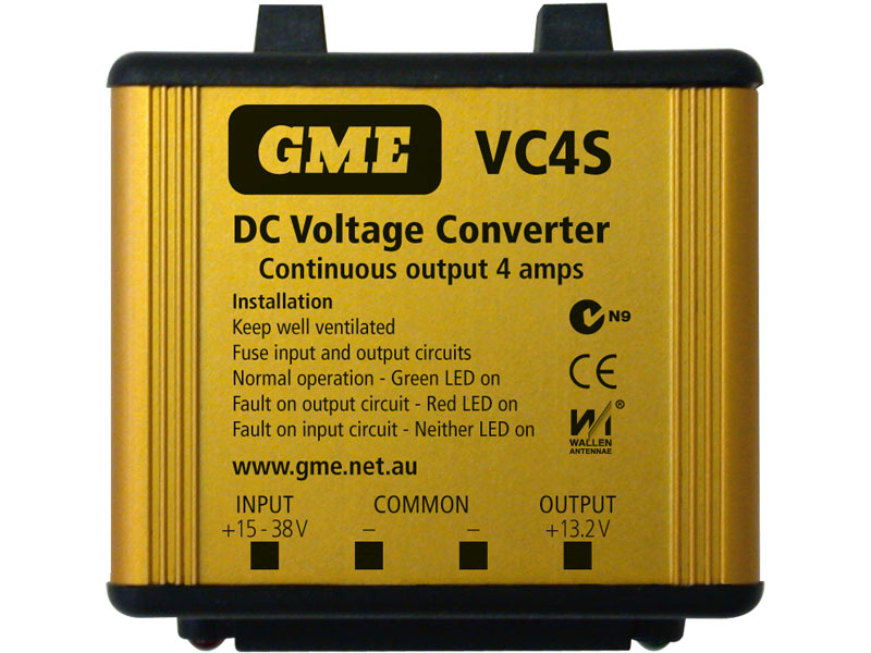 GME Voltage Convertor VC4S 24-12V DC 4 A Switch Mode