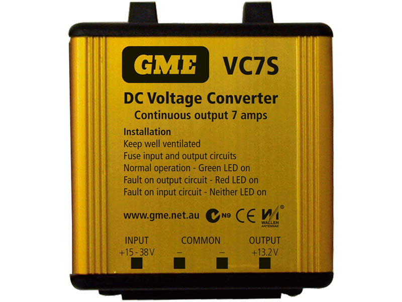 GME Voltage Convertor VC7S 24-12V DC 7A Switch Mode